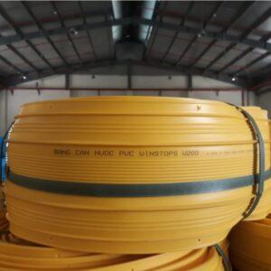 Băng cản nước PVC Vinstop V200 chống thấm mạch ngừng thi công