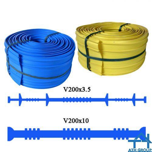 Băng cản nước PVC Waterstop V200 chống thấm mạch ngừng bê tông