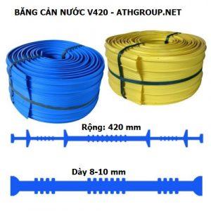 Băng cản nước V420 chịu nhiệt, chống lão hoá