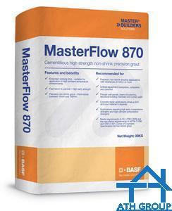 MasterFlow 870 Vữa xi măng không co ngót, cường độ cao