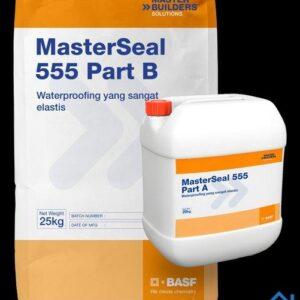 Masterseal 555 vữa chống thấm gốc nhựa tổng hợp và xi măng
