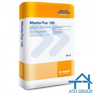 Mastertop 100 Green xoa cứng nền dạng bột rắc, cốt liệu tự nhiên