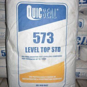 Quicseal 573 vữa tự san phẳng cho sàn bê tông