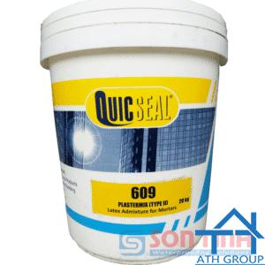 Quicseal 609 - Phụ gia Latex Acrylic (Phụ gia cho vữa công thức II)