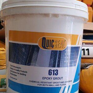 Quicseal 613 - Vữa Epoxy công thức đặc biệt 3 thành phần