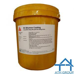 Sika BC Bitumen Coating Dùng Quét Lót Chống Thấm