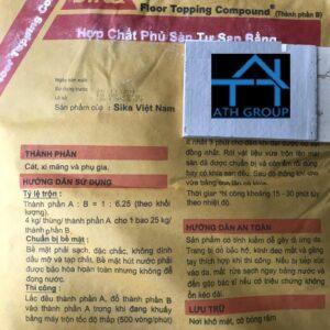Sika Floor Topping Compound vữa tự san bằng 2 thành phần