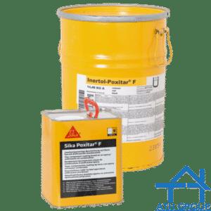 Sika Poxitar F - Lớp phủ gốc epoxy - hắc ín