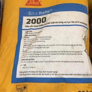 Sika Refit 2000 Vữa Sửa Chữa Thẩm Mỹ Bề Mặt Bê Tông