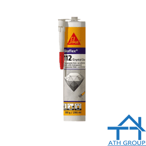 Sikaflex 112 Crystal Clear - Keo kết dính trám khe trong suốt