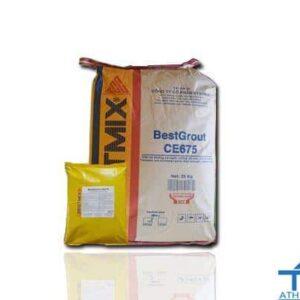 BestGrout CE675 - Vữa rót không co ngót, cường độ cao gốc xi măng