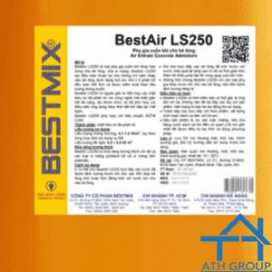 Bestair LS250 - Phụ gia cuốn khí cho bê tông