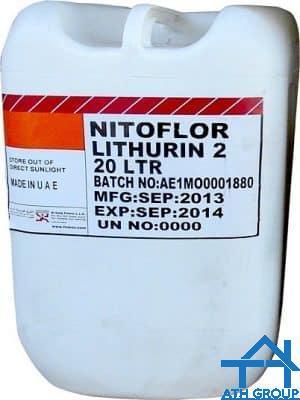 Fosroc Nitoflor Lithurin - Phụ gia tăng độ cứng và chống bám bụi