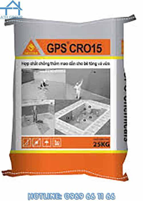 GPS Cro 15 - Hợp chất chống thấm mao dẫn bê tông và vữa