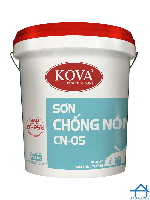 Kova CN-05 - Sơn ngoại thất chống nóng mái tôn