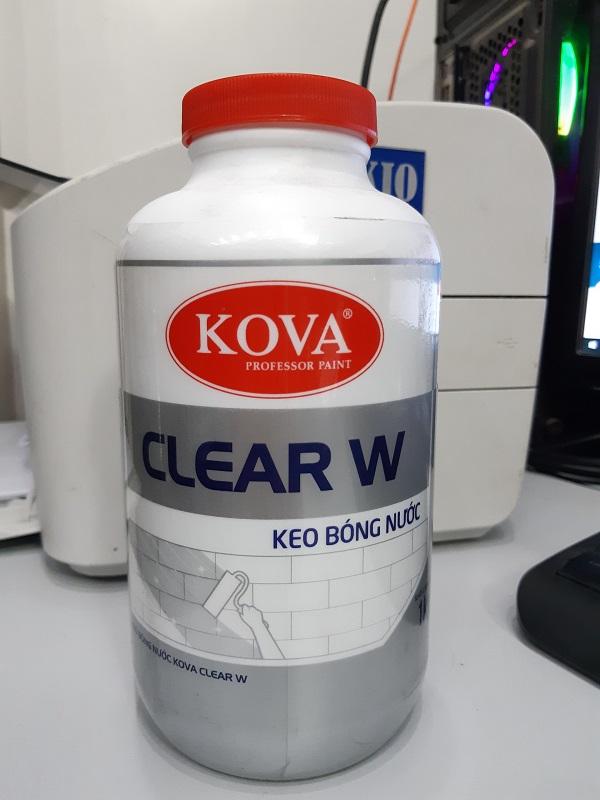 Kova Clear W - Keo bóng nước