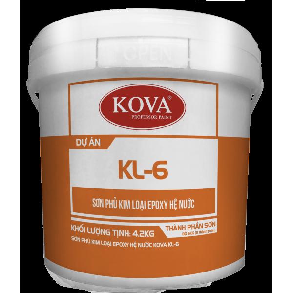 Kova KL-6 - Sơn phủ kim loại Epoxy hệ nước