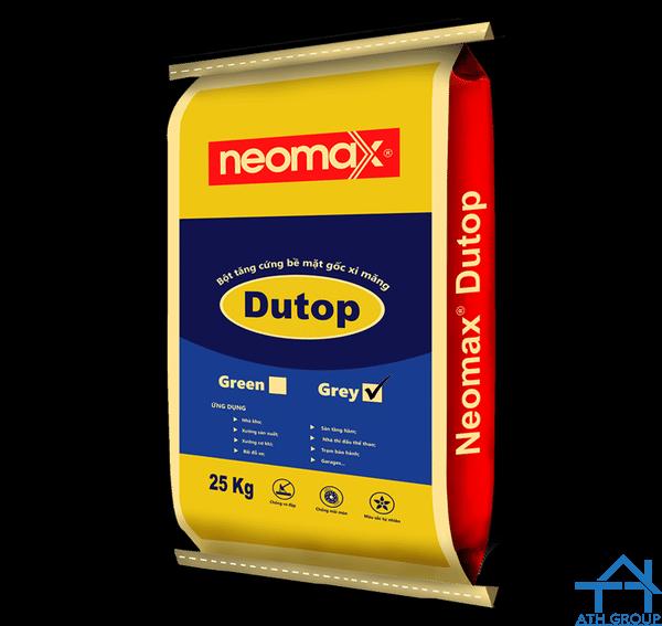 Neomax Dutop Grey - Bột tăng cứng bề mặt gốc xi măng, màu xám