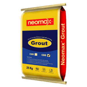 Neomax Grout C80 - Vữa rót tự chảy không co ngót gốc xi măng