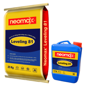 Neomax Leveling 81 - Vữa tự san bằng, tính năng cao