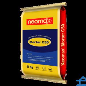 Neomax Mortar C50 - Vữa sửa chữa gốc xi măng cường độ cao