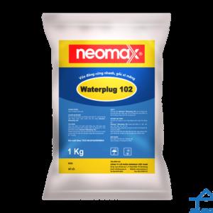 Neomax Waterplug 102 - Vữa đông cứng nhanh gốc xi măng