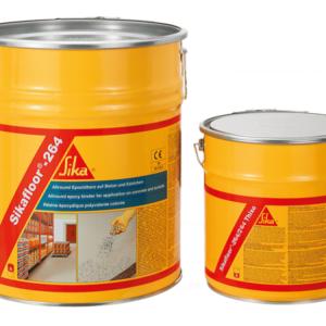 Sikafloor 264 HC - Hệ thống sơn lót và sơn phủ hoàn thiện Epoxy