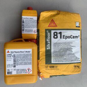 Sikafloor 81 Epocem - Vữa tự san bằng gốc xi măng Epoxy