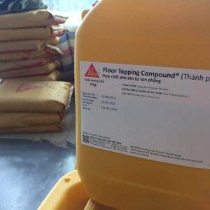 Sikafloor Topping Compound - Hợp chất phủ sàn tự san bằng