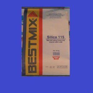 Silica 115 - Bột trét tường trộn sẵn, gốc xi măng