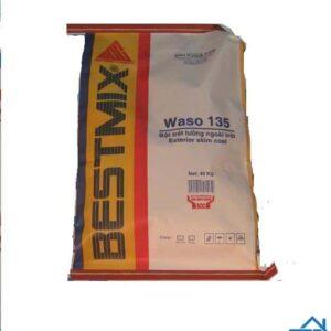 Waso 135 - Bột trét tường trộn sẵn, gốc xi măng polymer biến tính